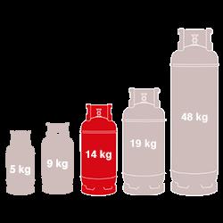 14kg Gas