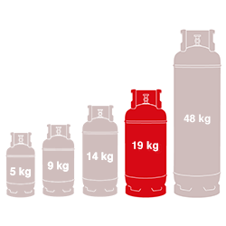 19kg Gas