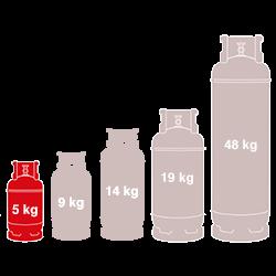 5kg Gas
